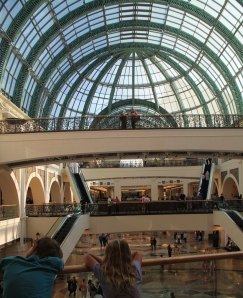 We really enjoyed our mall visit in Dubai