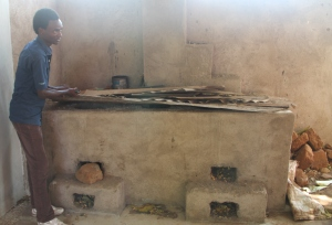 The cooking stove for the girls dormitory