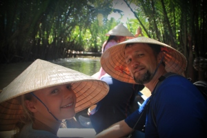 Boating in the Mekong Delta