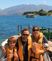 After our jet-boat ride in Wanaka