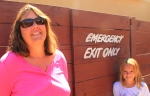 Will they walk by the emergency exit from the maze?