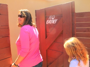 "Nope - Suzanne and Alex bailed out the ""emergency exit"""
