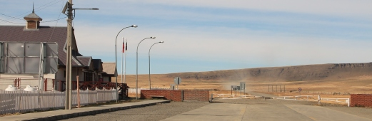 The lonely Chile/Argentina border crossing - no petrol within 150 km.