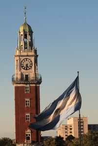 "The ""English Tower"" which was gifted to Argentina by the UK (before the war)"