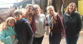Patrick and Alex made friends with a few English University Students on holiday from Buenos Aires