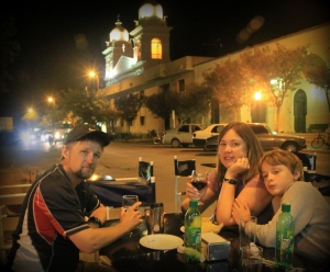 Late night dinner in Salta