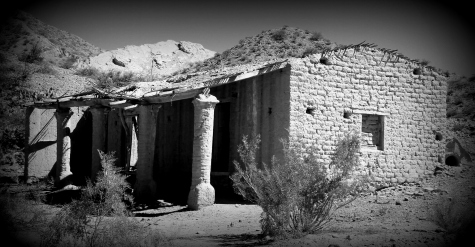 Example of adobe house