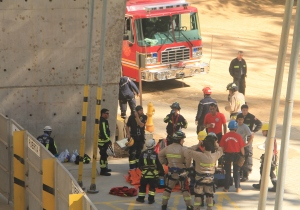 We were surprised to find out that ALL the fire fighters in Chile are volunteers