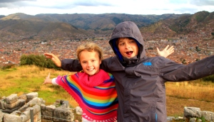 Cusco in the background